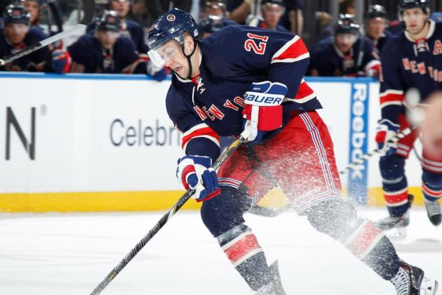 New York Rangers' Derek Stepan Is Heating Up for Stanley Cup Playoff Push