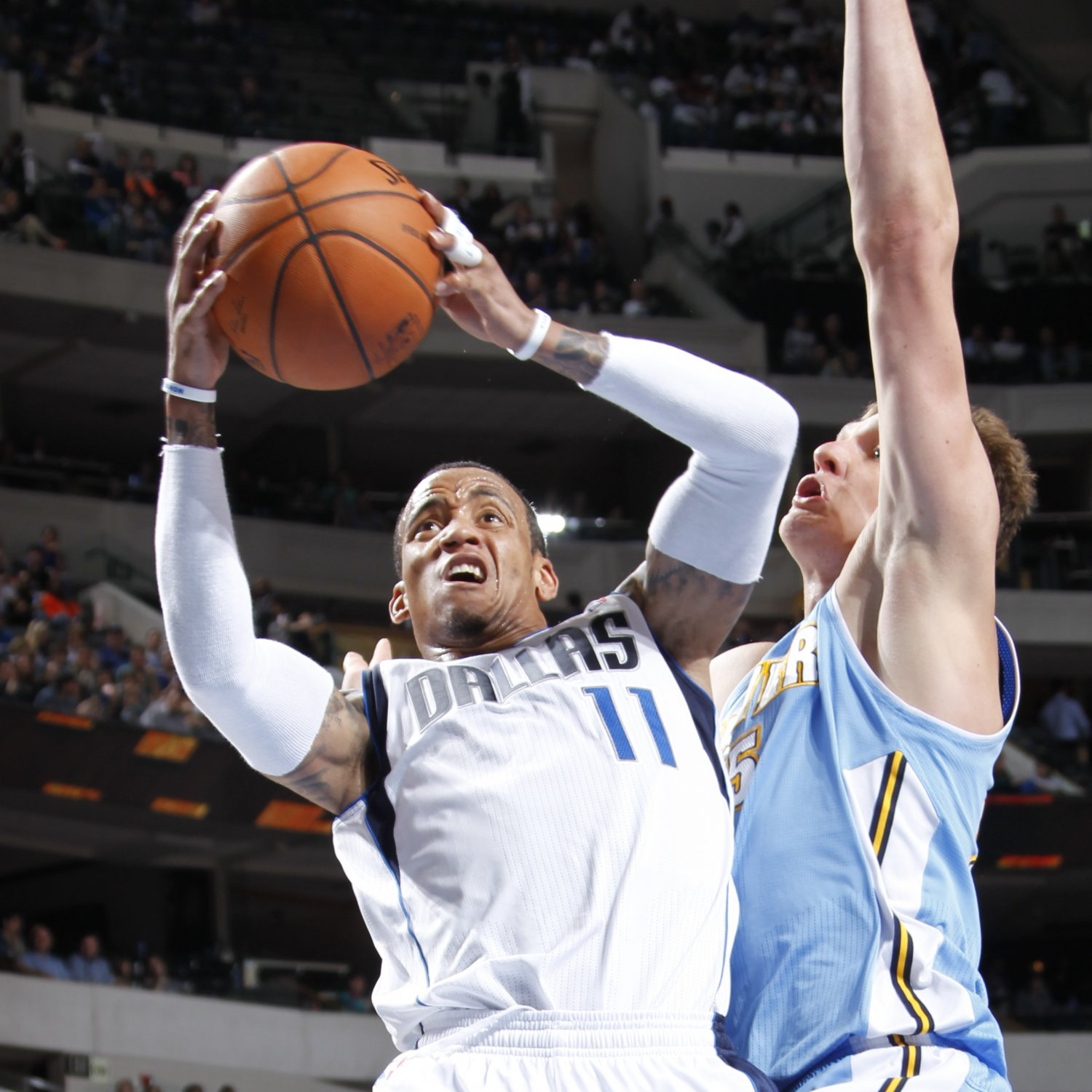 Denver Nuggets Vs. Dallas Mavericks 3/21/14: Video