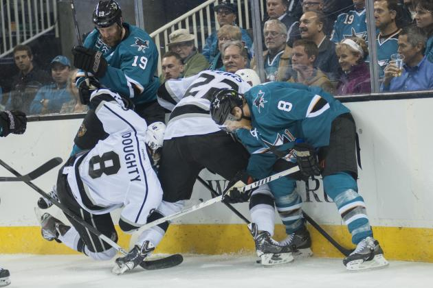 No Talk of Avoiding Kings in Sharks' Dressing Room