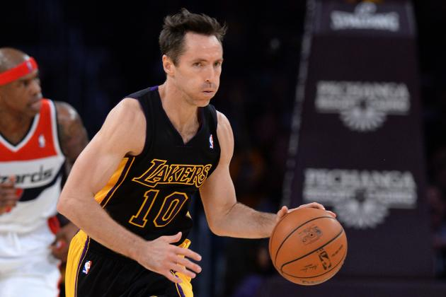 4 Lessons We Learned from Steve Nash's Comeback Performance Friday Night