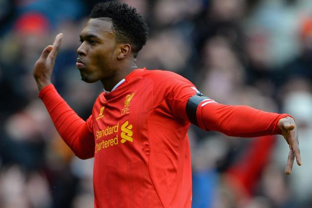 Daniel Sturridge Watches Videos of His Goals on Bus Before Liverpool Games