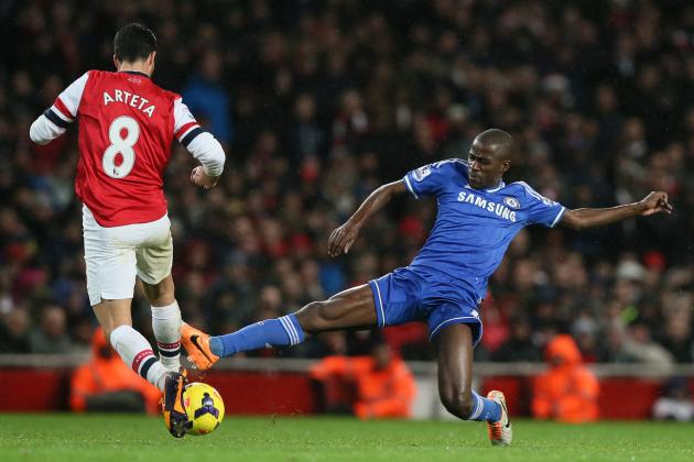 Chelsea vs. Arsenal: Live Player Ratings for Blues and Gunners