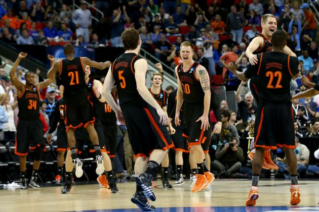 NCAA Tournament Schedule 2014: TV Info, Updated Bracket and Cinderellas to Watch