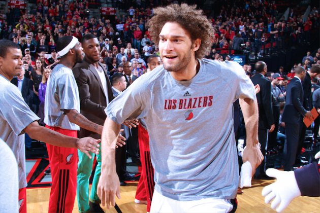 Portland Trail Blazers' Robin Is No Longer 'The Other Lopez Twin'
