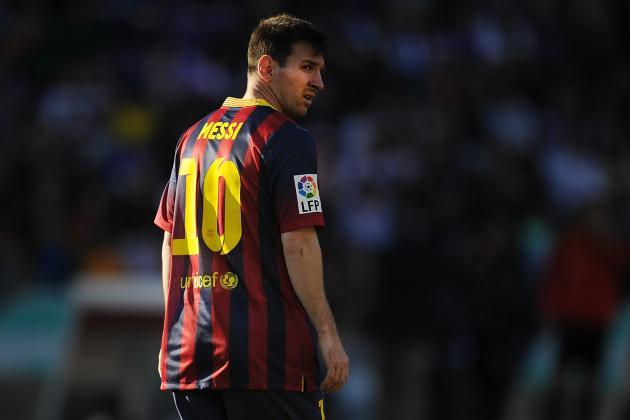 Predictions for Lionel Messi During Real Madrid vs. Barcelona