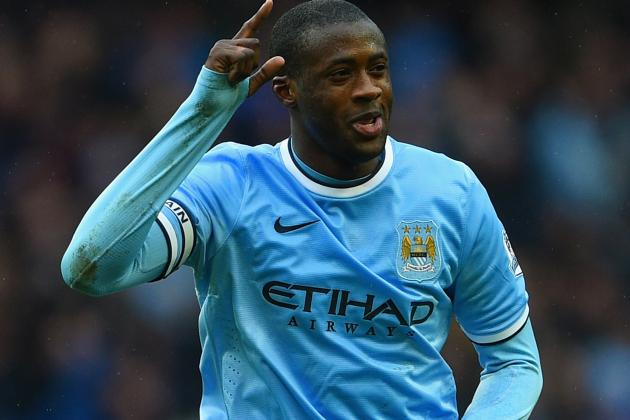 Twitter Reacts to Yaya Toure's Performance vs. Fulham