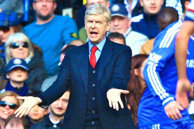Arsene Wenger's Day Turns from Celebration to Humiliation Against Chelsea