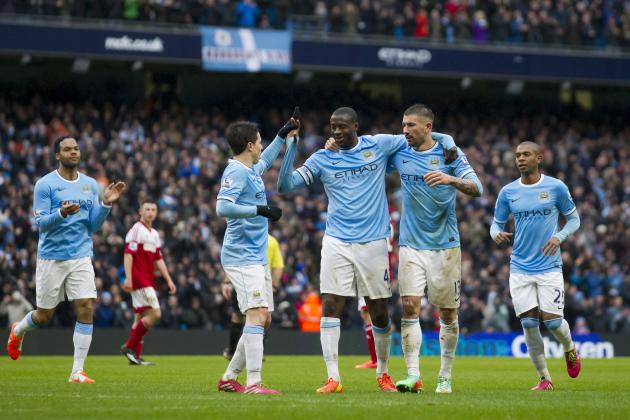 Manchester City vs. Fulham: Live Player Ratings for the Citizens