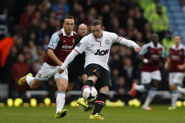 Twitter Reacts to Wayne Rooney's Performance vs. West Ham