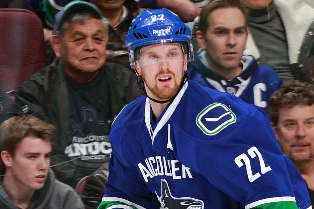 Daniel Sedin Returns to Lineup Sunday vs. Sabres