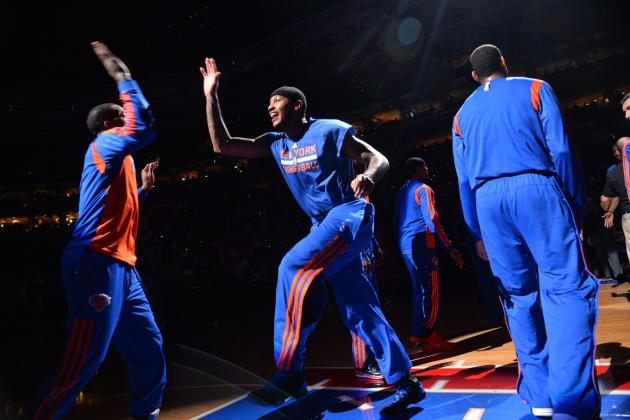 Knicks Make History by Following 7-Game Slide with 8-Game Winning Streak