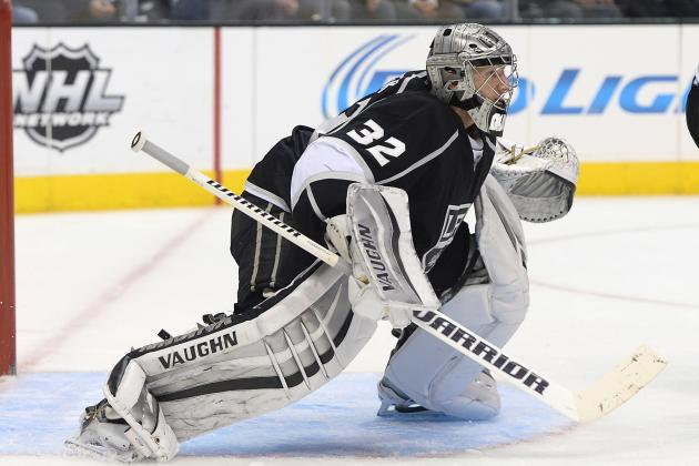 Video: Jonathan Quick's Spectacular Glove Save Robs Tomas Fleischmann