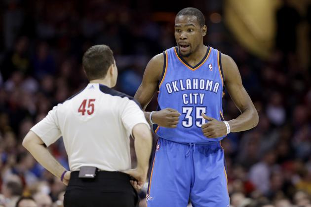 Kevin Durant Hits 50 Points for 2nd Time This Season
