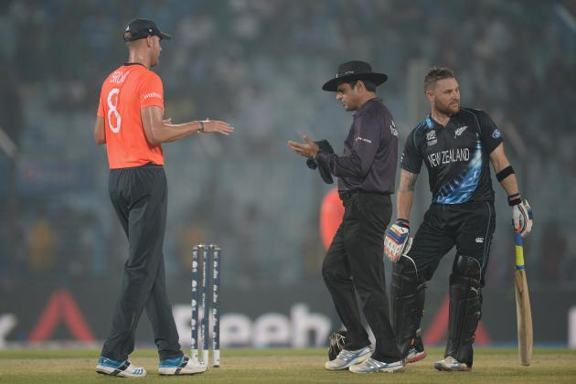 England vs. New Zealand: Stuart Broad Right to Question Lightning Call