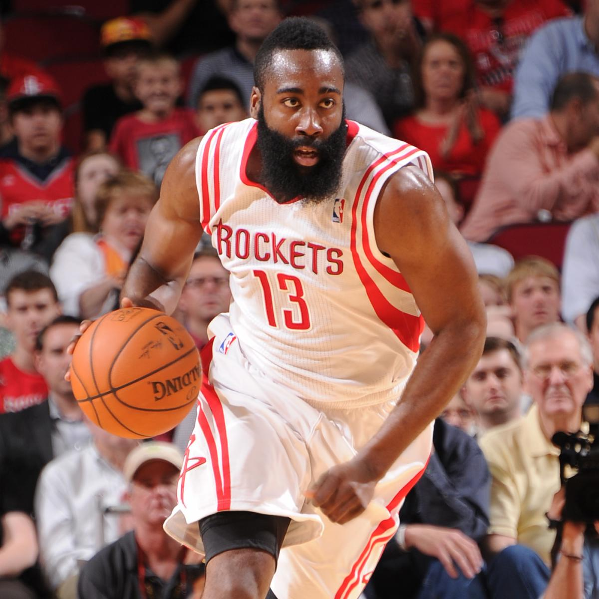 James Harden Total Points: Houston Rockets Vs. Cleveland Cavaliers: Live Score And