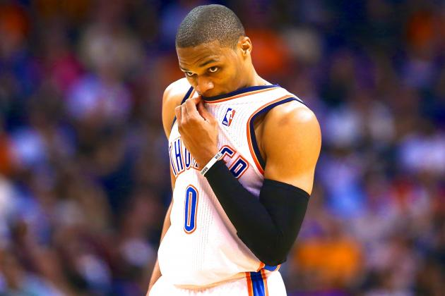 At What Point Does Russell Westbrook Become a Major Risk to OKC Thunder?