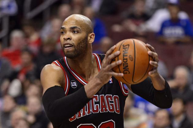 Chicago Bulls Coach Tom Thibodeau Pitches Taj Gibson as 6th Man of the Year