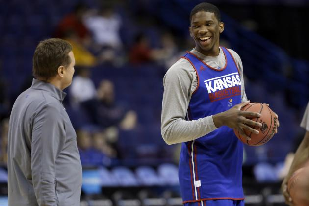 Joel Embiid Injury Will Not Cost Kansas Against Stanford in 2014 NCAA Tournament