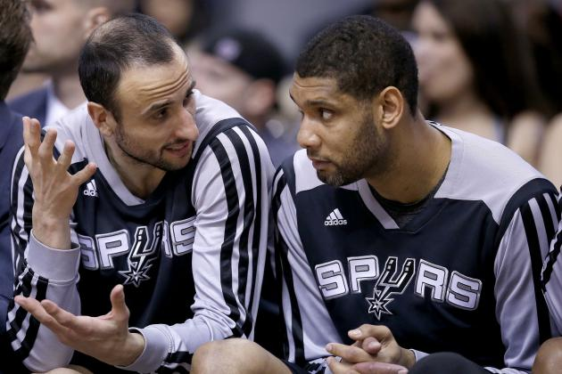 Ginobili & Duncan out Tonight vs. Warriors