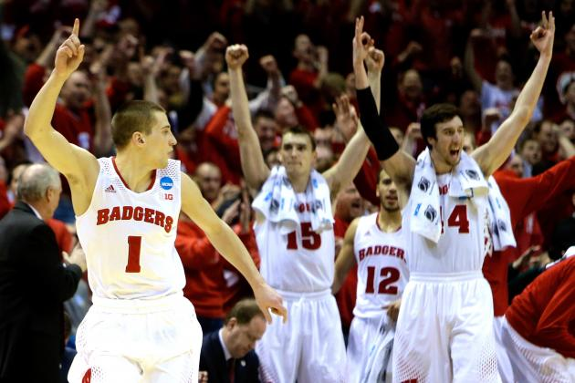Wisconsin vs. Oregon: Score, Twitter Reaction and More from March Madness 2014