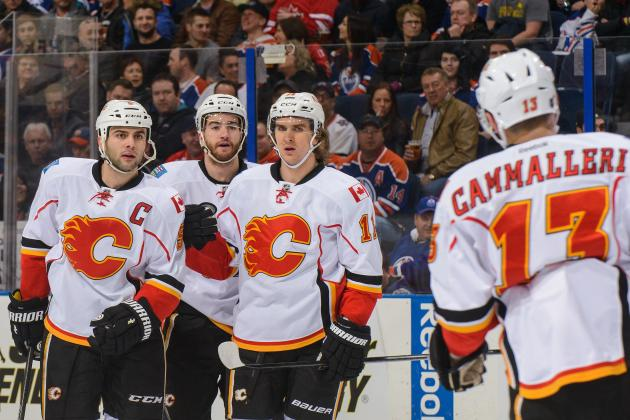 Video: Flames Score Four Times in Under Four Minutes Against Oilers