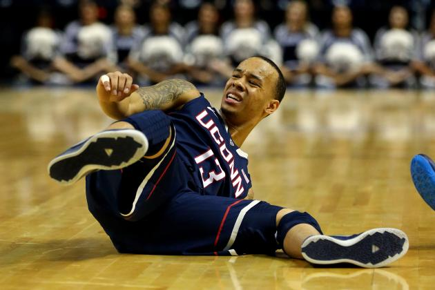 Shabazz Napier Injury: Updates on UConn Star's Leg