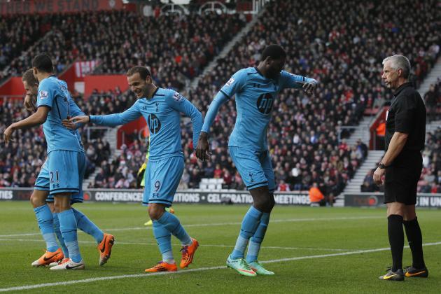 Tottenham Hotspur vs. Southampton: Live Player Ratings for Spurs and Saints