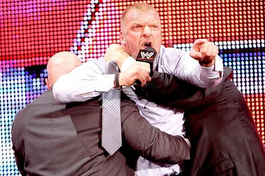 Report: Triple H Upset over CM Punk's Unwillingness to Work a Program with Him?