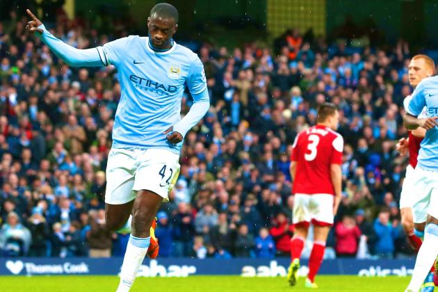 World-Class Yaya Toure Answers Critics with Sizzling Display in Man City Romp