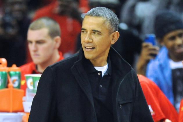 President Barack Obama Congratulates Dayton on Advancing to Sweet 16