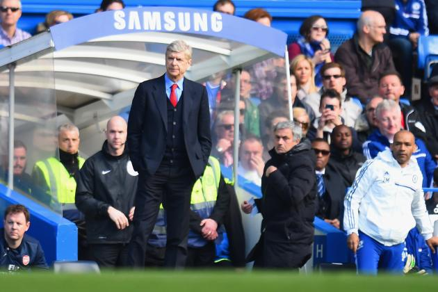 Premier League Week 31 Standout Stats: Chelsea Ruins Arsene Wenger's Big Day