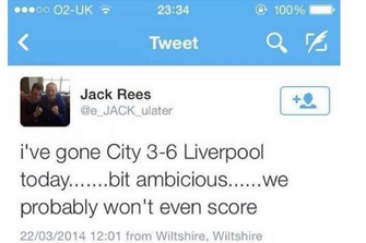 Fan Predicted Cardiff 3-6 Liverpool Before Kick-Off, Couldn't Place His Bet