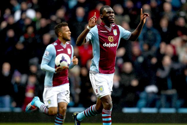 Twitter Reacts to Christian Benteke's Performance from Aston Villa vs. Stoke