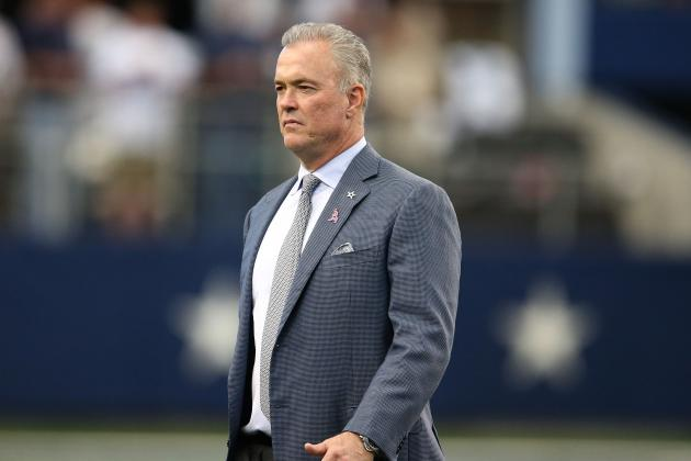Stephen Jones: Cowboys Taking Harder Look Than Ever at Age, Injury History
