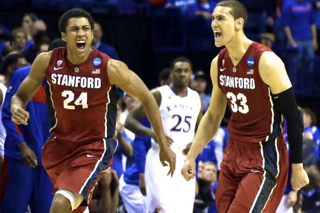 Kansas vs. Stanford: Score, Twitter Reaction and More from March Madness 2014