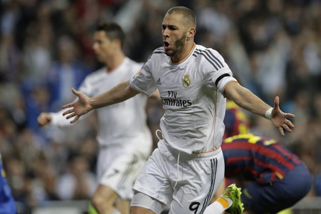 GIF: Karim Benzema Shocks Barcelona with 2 Goals to Fire Real Madrid Ahead