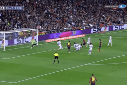 GIF: Record Breaker Lionel Messi Draws Barcelona Level with Real in Clasico