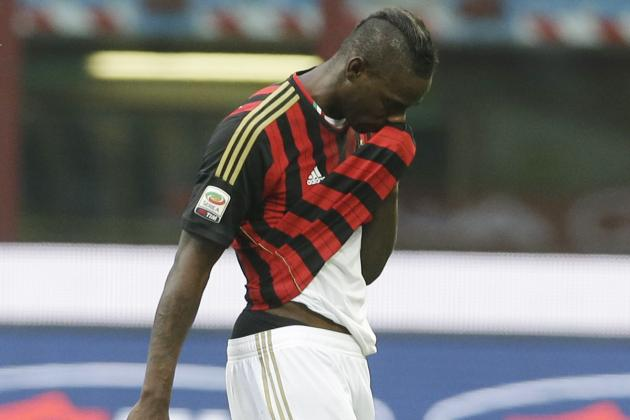 Mario Balotelli Was Dropped by AC Milan for Lazio Clash, Confirms Mauro Tassotti