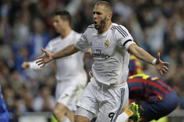Twitter Reacts to Karim Benzema's Performance for Real Madrid vs. Barcelona