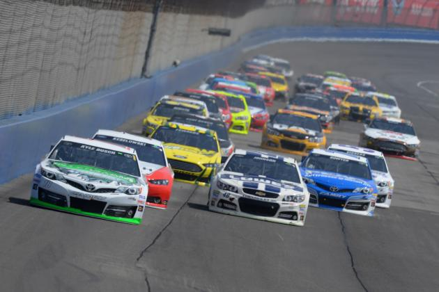 NASCAR at Fontana 2014: Live Results and Analysis from Auto Club 400
