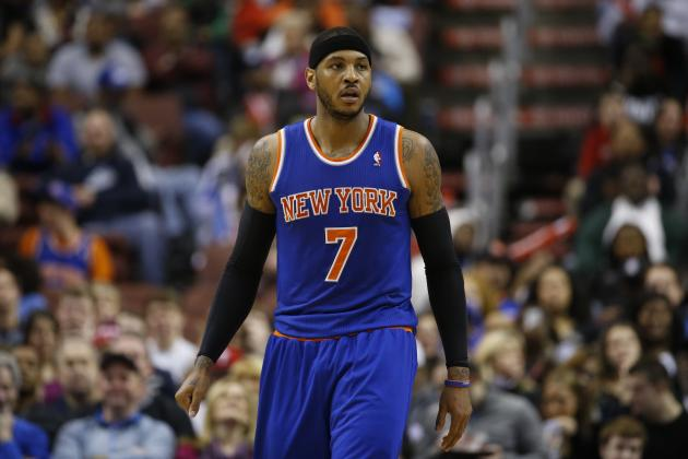 Can Triangle Offense Work for New York Knicks with Carmelo Anthony?