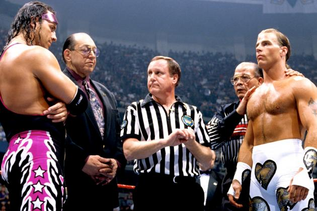 WWE Classic of the Week: Bret Hart vs. Shawn Michaels, WrestleMania XII