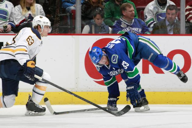 Henrik Sedin Exits vs. Sabres with Apparent Injury