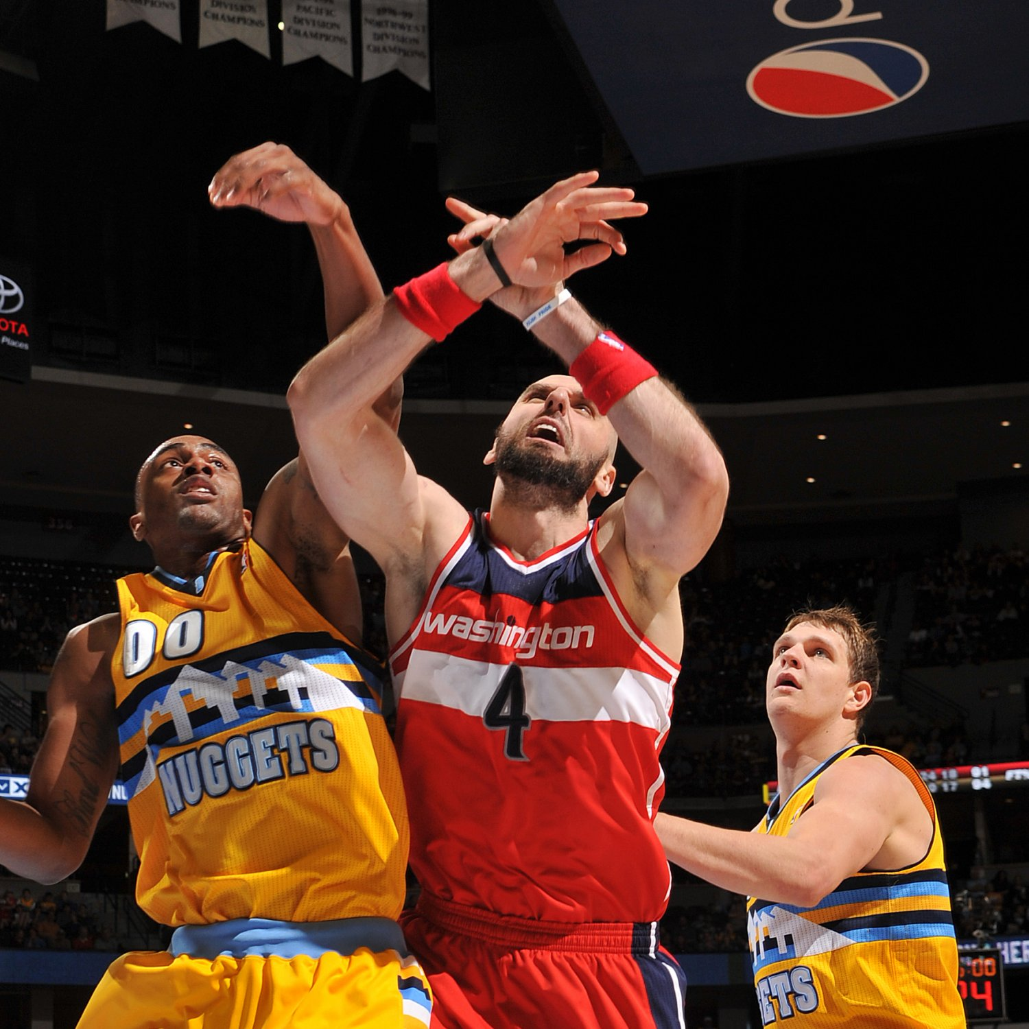 Washington Wizards Vs. Denver Nuggets 3/23/14: Video