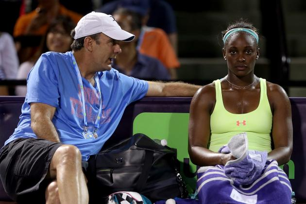 Sloane Stephens Needs to Grow Up and Stop Giving Up in Matches