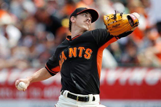 Lincecum Hit Hard but Giants Rally Past Royals