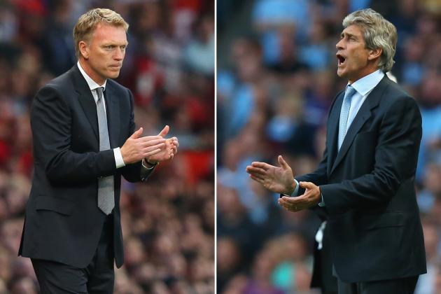 How Manchester United and Manchester City Should Line Up in Tuesday's Derby