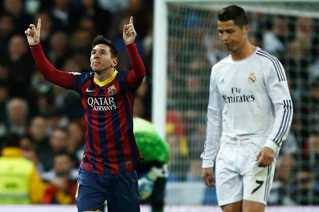 Cristiano Ronaldo vs. Lionel Messi: Updated Clasico Stats and Records