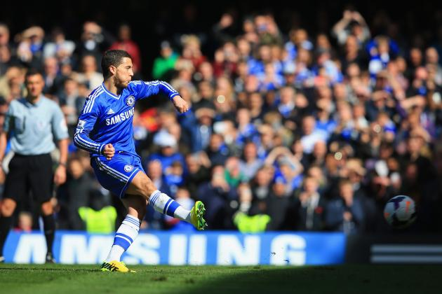 How Much Is Chelsea Winger Eden Hazard Worth Based on Form in 2014?