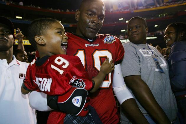 Florida State, Ohio State Offer Scholarship to Keyshawn Johnson's Son